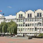 Reprezentanci rad powiatu i miasta Sanoka.